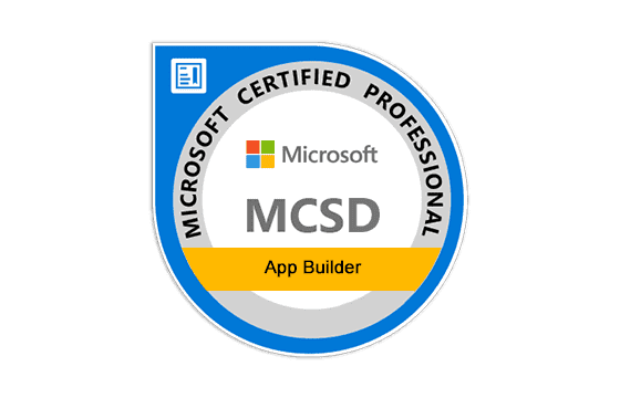 Microsoft Certified Solutions Developer: App Builder Exams