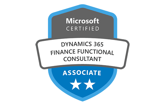 Microsoft Certified: Dynamics 365 Finance Functional Consultant Associate Exams