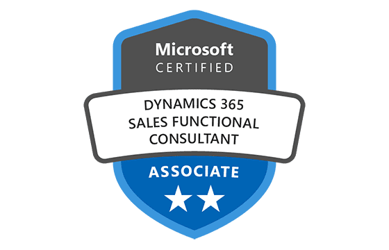 Microsoft Certified: Dynamics 365 Sales Functional Consultant Associate Exams